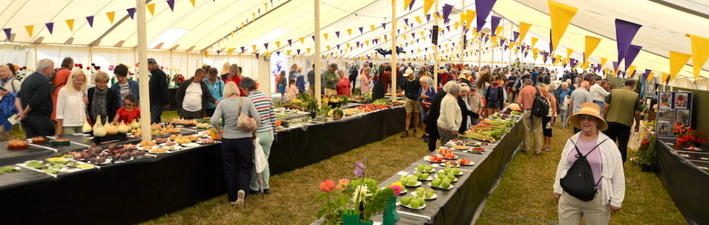 Horticultural Marquee - Chale Show